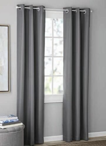 mainstays blackout flannel panel pair set of 2