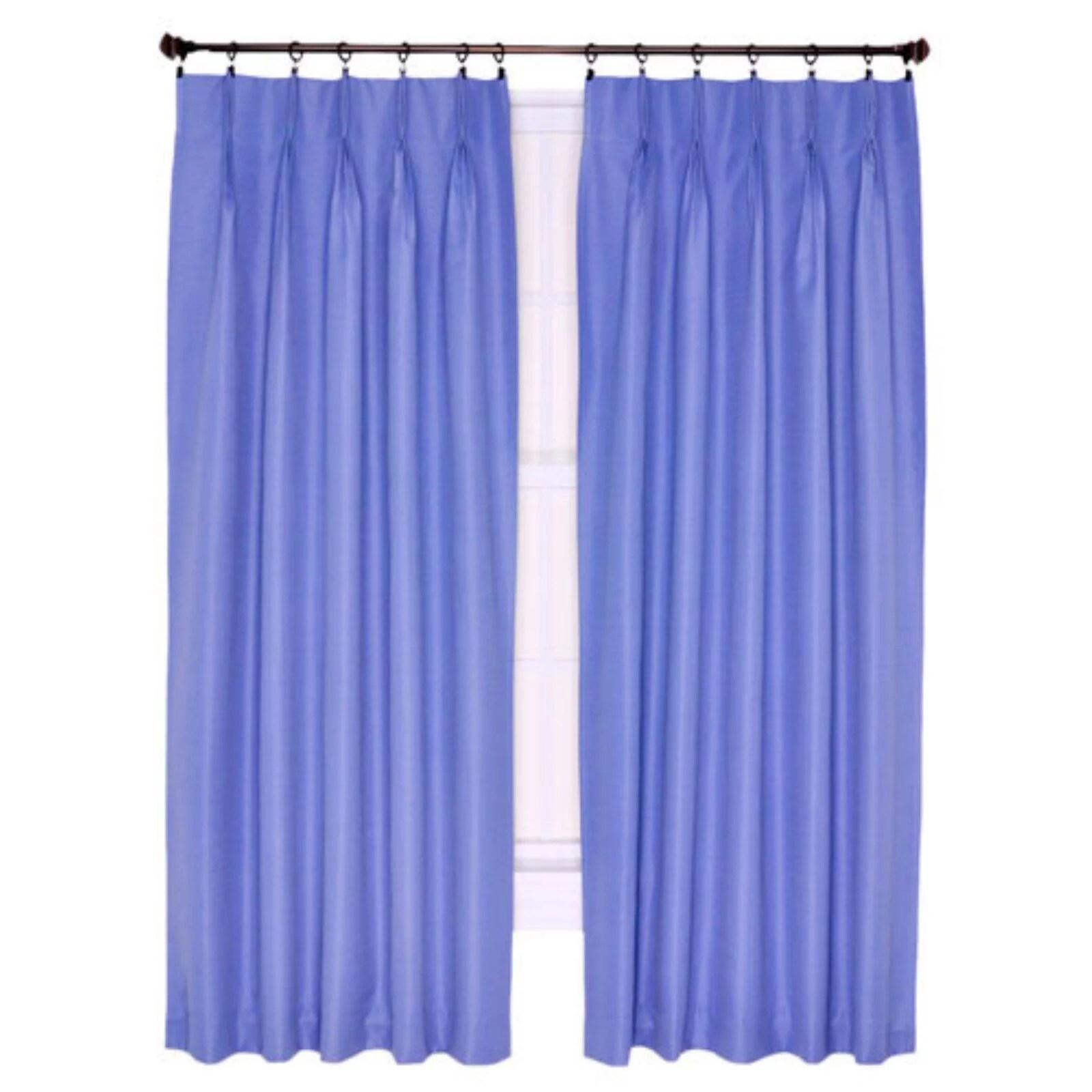 ellis crosby pinch pleat patio panel curtain walmart com