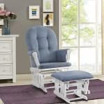 Nursing Chair Glider Rocker Ottoman Baby Furniture Rocking Seat Breast Feeding Ebay