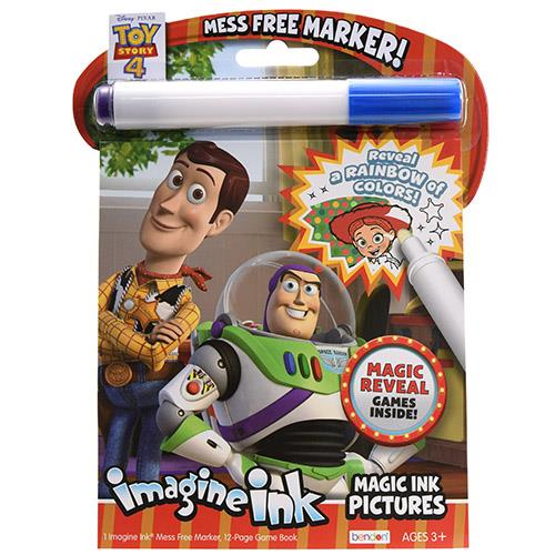 Toy Story 4 Imagine Ink Magic Ink Pictures Coloring Book Walmart Com Walmart Com