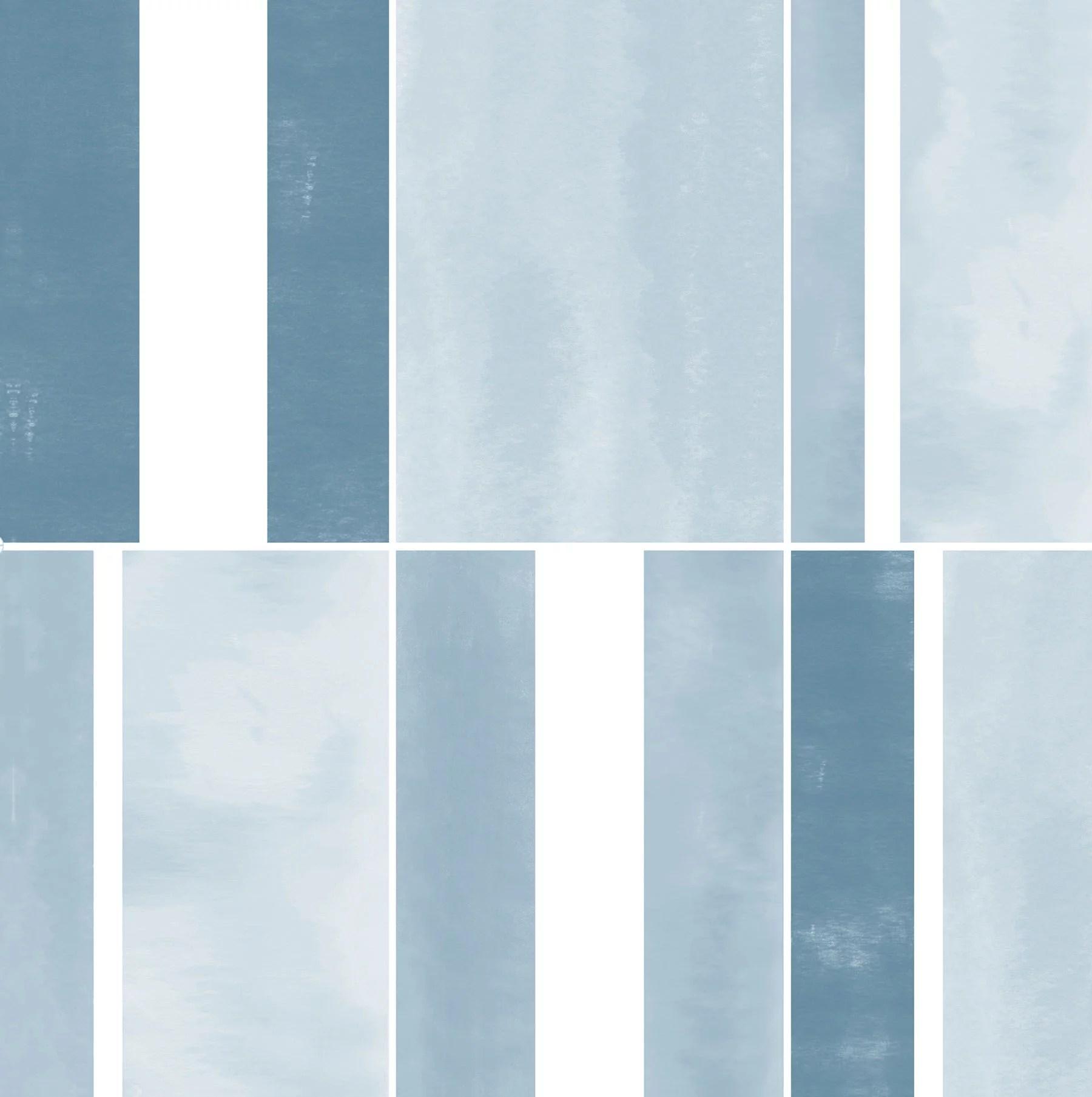 floorpops azure 12 in x 12 in peel and stick virgin vinyl floor tiles 10 pack walmart com
