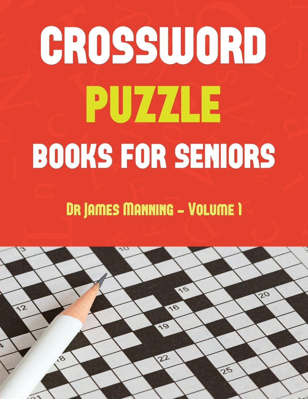 Crossword Puzzle Book For Seniors Crossword Puzzle Book