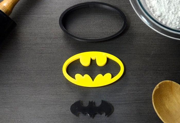 Batman Superhero Cookie Cutter Fondant Cutter Classic Black