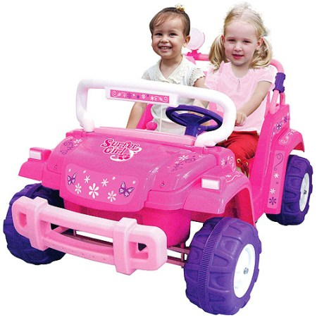 National Products 12V Surfer Girl Battery Operated Ride-on