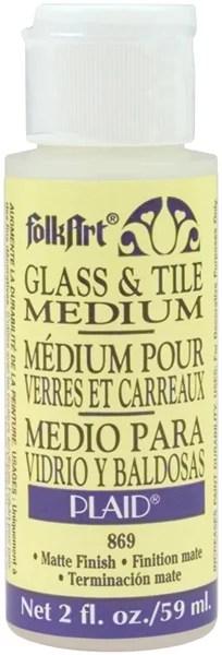 Folkart Glass Tile Medium 2oz Walmart Com Walmart Com