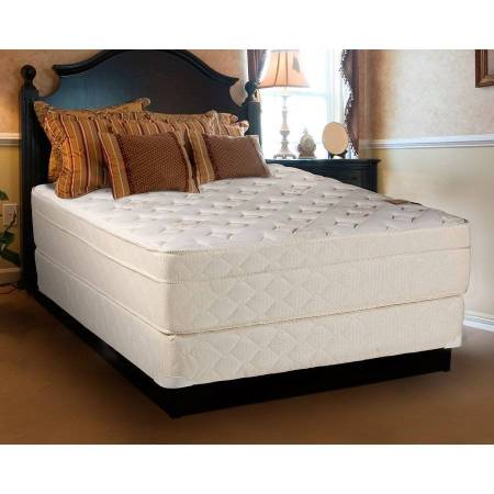 Continental Sleep Fifth Ave Collection 13 Fully Assembled Foam Encased Firm Eurotop Orthopedic Mattress Set