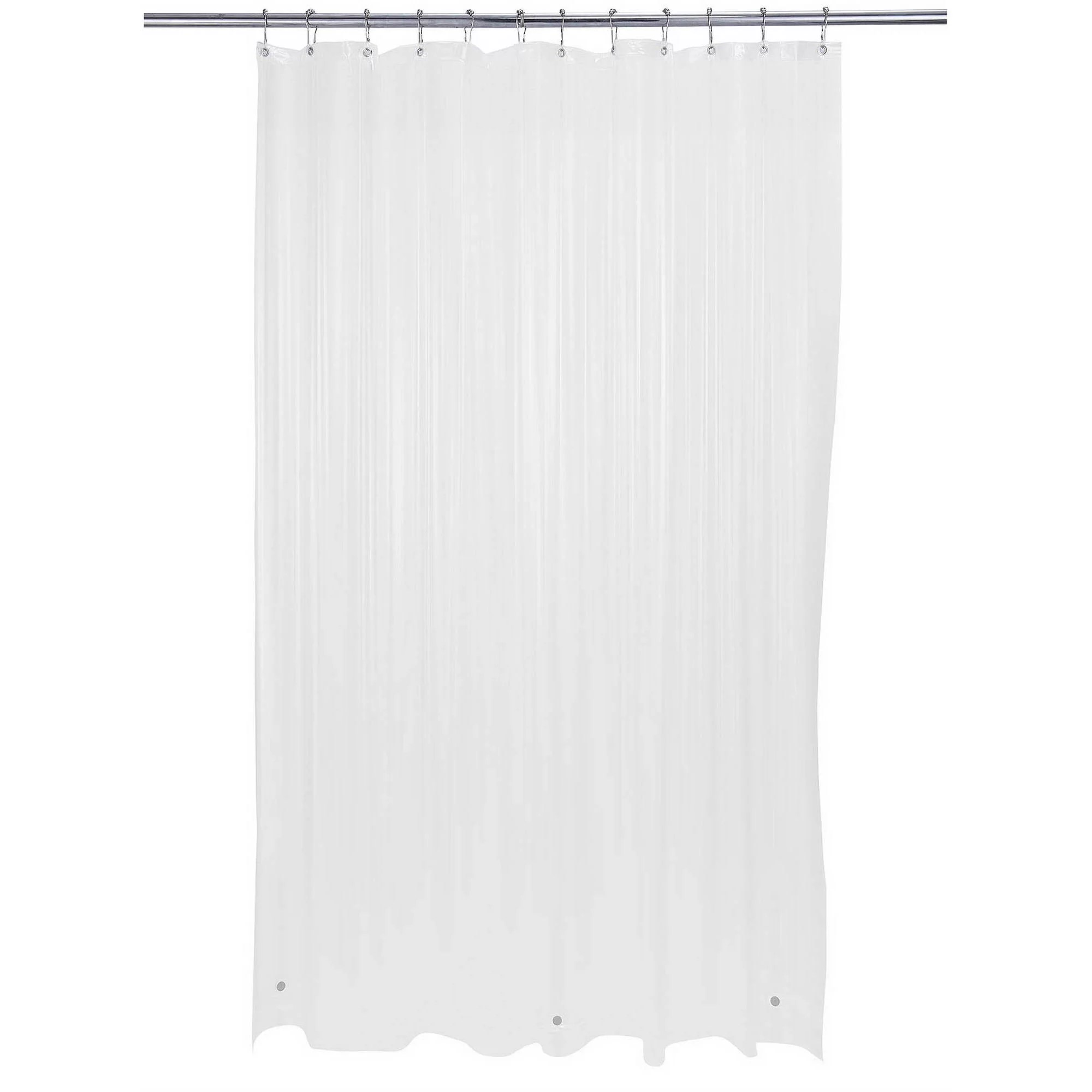 bath bliss shower curtain liner extra long white 72 x 84