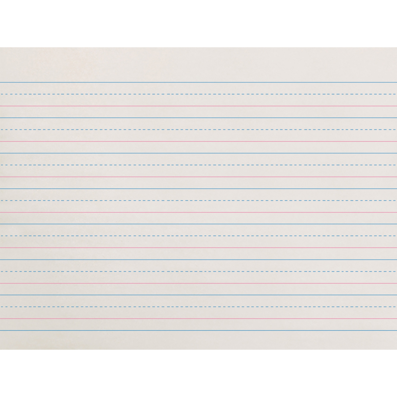 Zaner Bloser Dotted Midline Newsprint Paper 500 Pack
