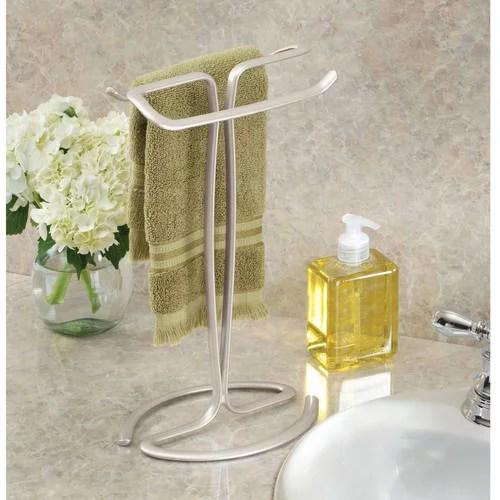 better homes gardens countertop towel stands satin