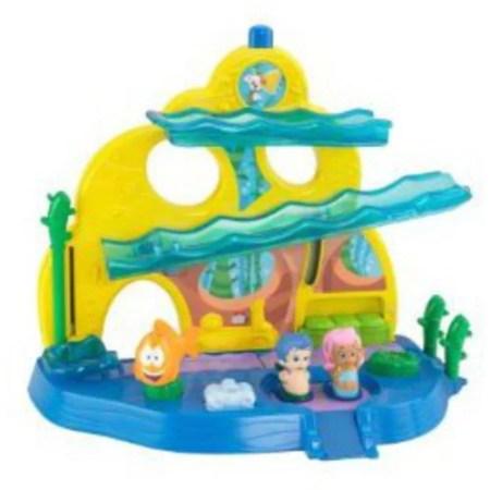 fisher-price bubble guppies bubble school play set - walmart