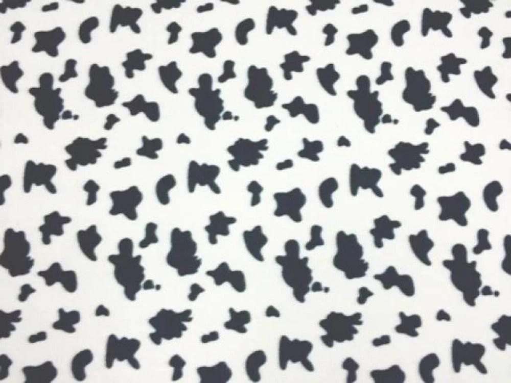 cow print fleece fabric style pt059 free shipping