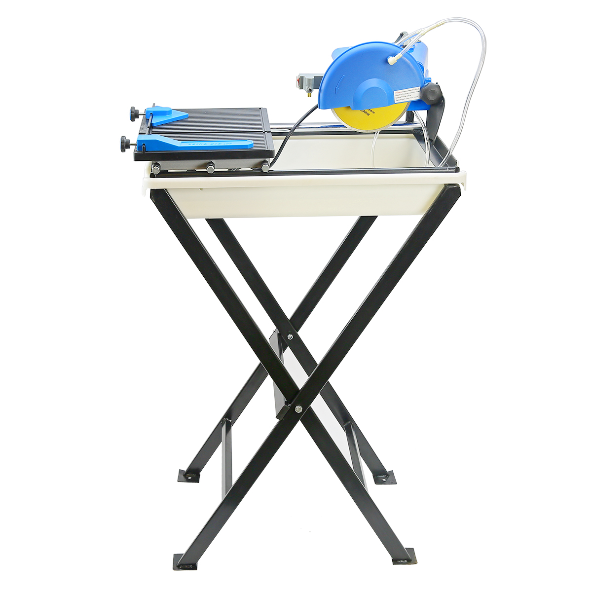stark professional 7 in ceramic tile saw with stand blade guide machine wet tile cutter set