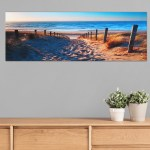 Unframed Canvas Wall Art Seascape Beach Painting Print Big Modern Picture For Living Room Bedroom And Office 59 X 20 Walmart Canada