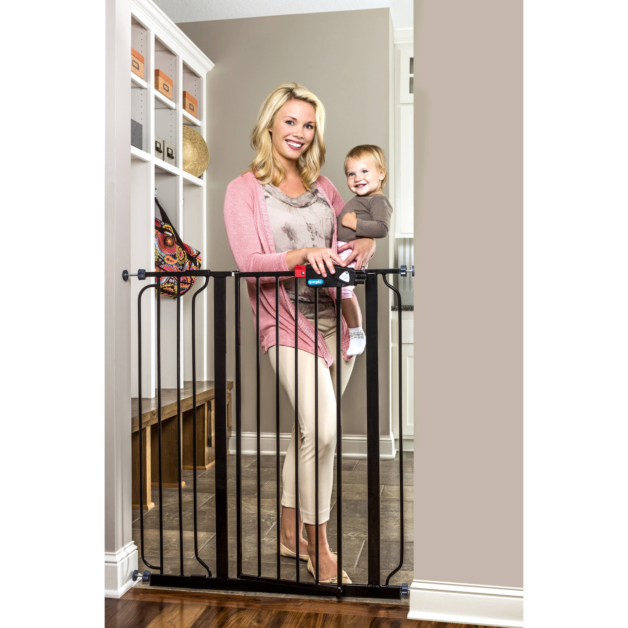 Captivating Tall Extra Wide Baby Gates Babies R Us