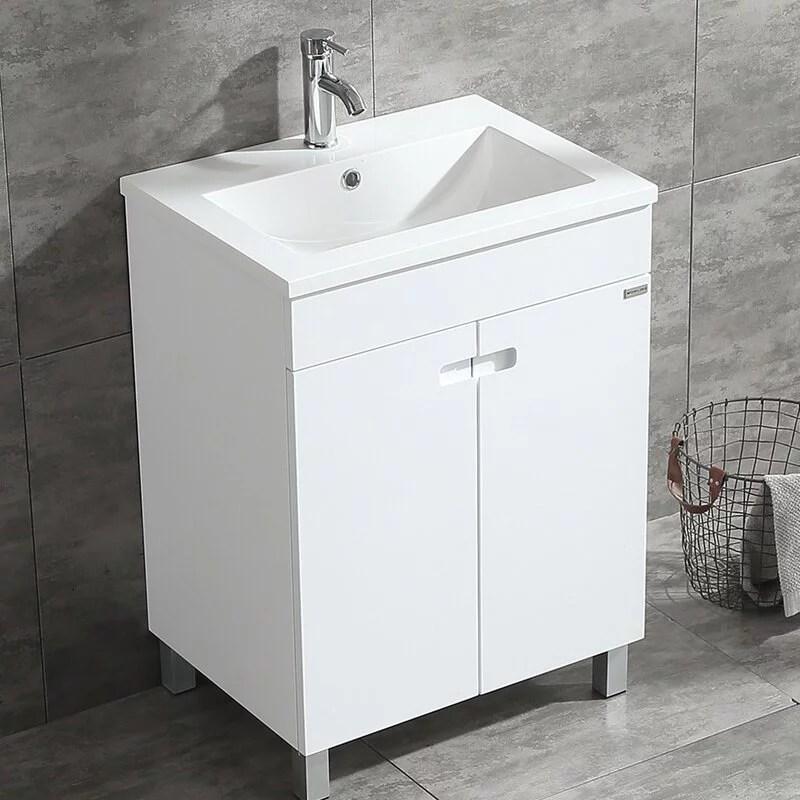 walcut 24 bathroom vanity cabinet storage under mount single vessel sink faucet combo