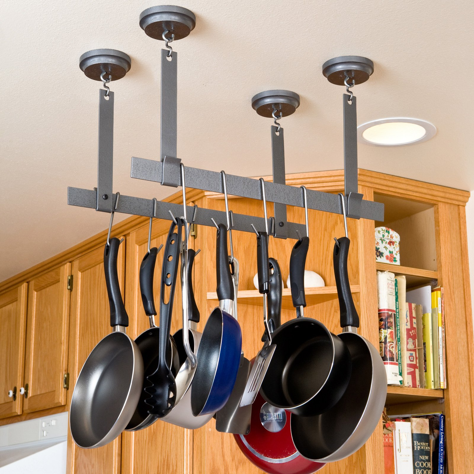 rack it up ceiling bars pot rack