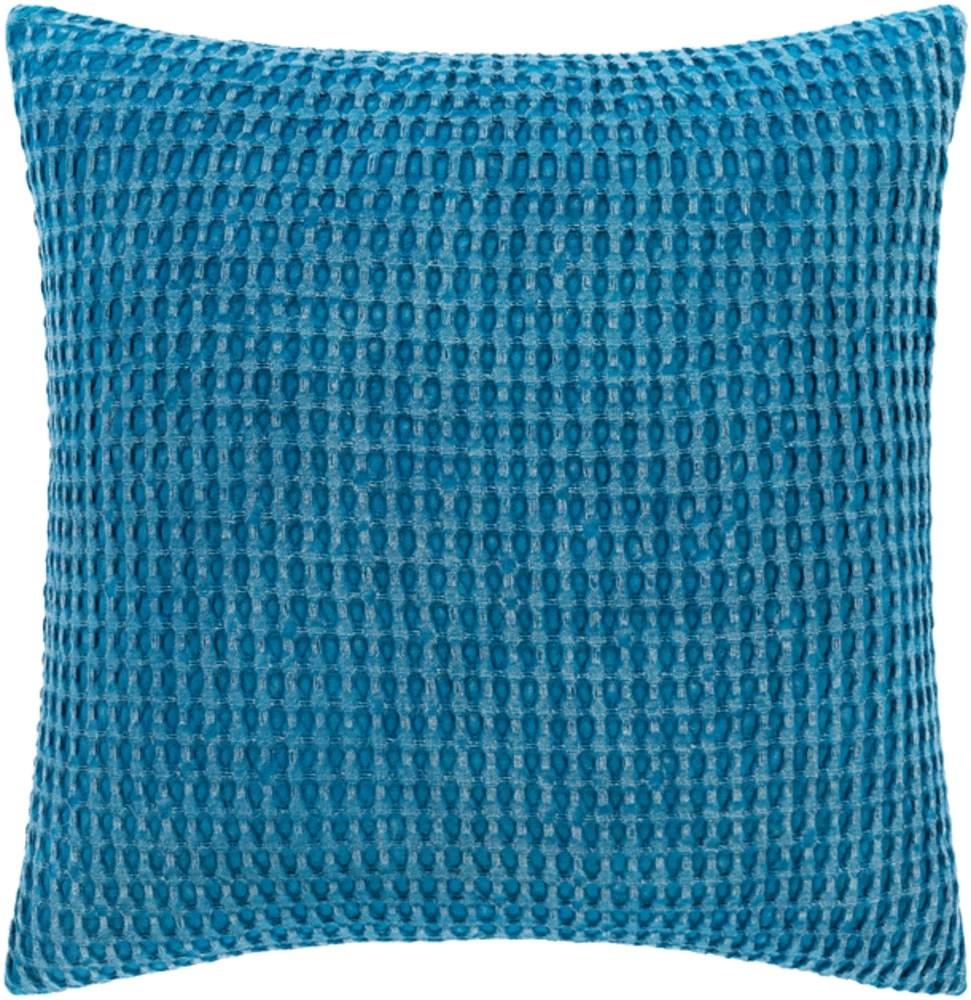 https www walmart com ip surya waffle 18 x 18 bright blue pillow cover wfl002 1818 718030534