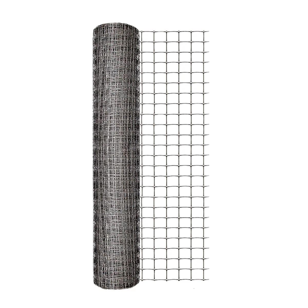 Expert Gardener 24 In. H x 50 Ft. L 1 In. Mesh Gray Plastic Netting