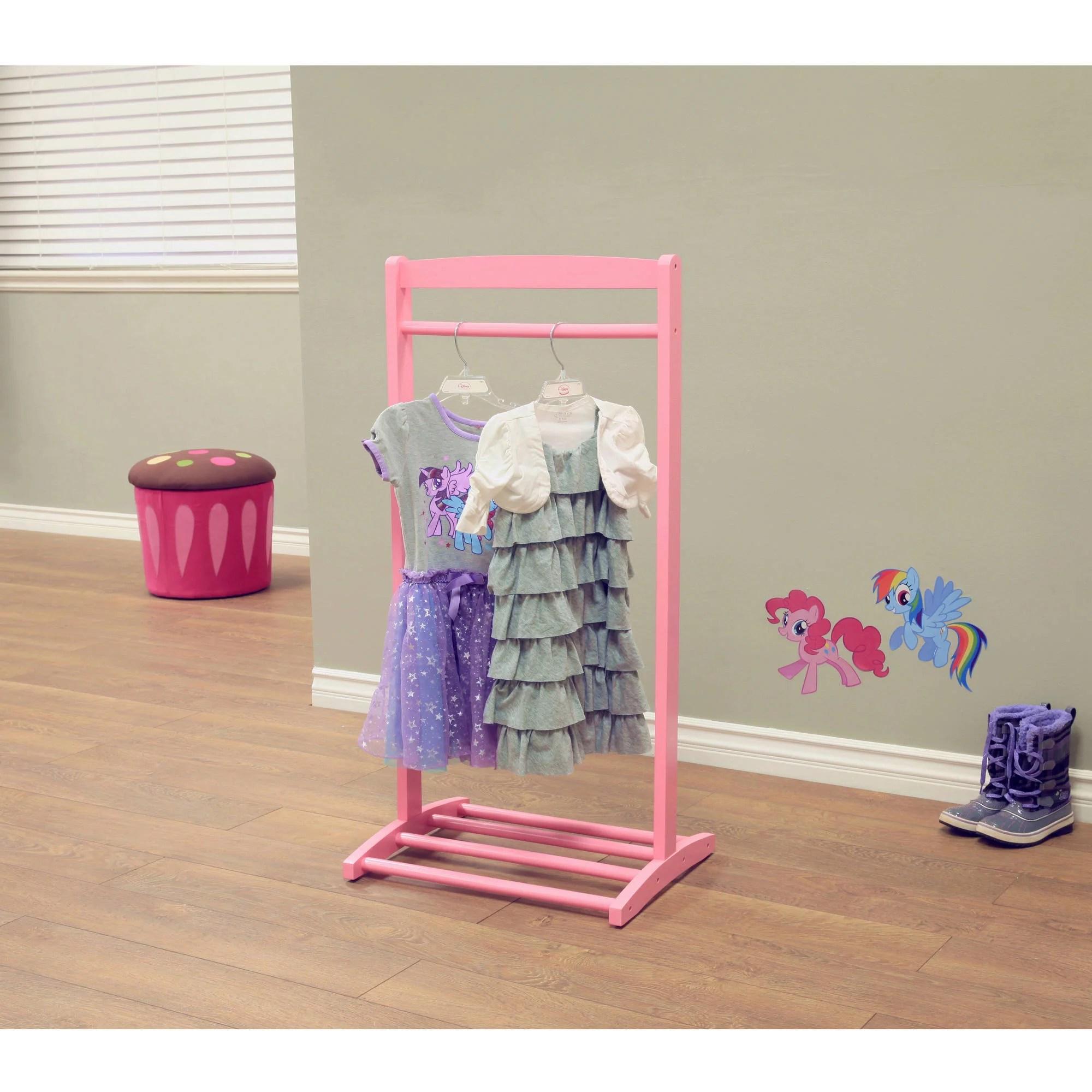 home craft kids clothes rack pink walmart com