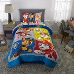 Paw Patrol Bed In A Bag Kids Bedding Bundle Set 4 Piece Twin Walmart Com Walmart Com