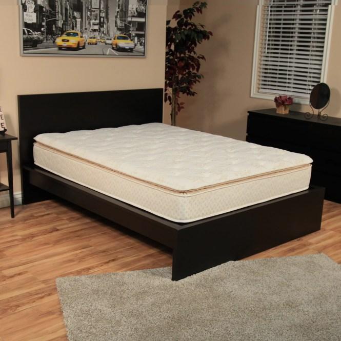 Nuform Quilted Pillow Top 11 Inch Twin Xl Size Foam Mattress