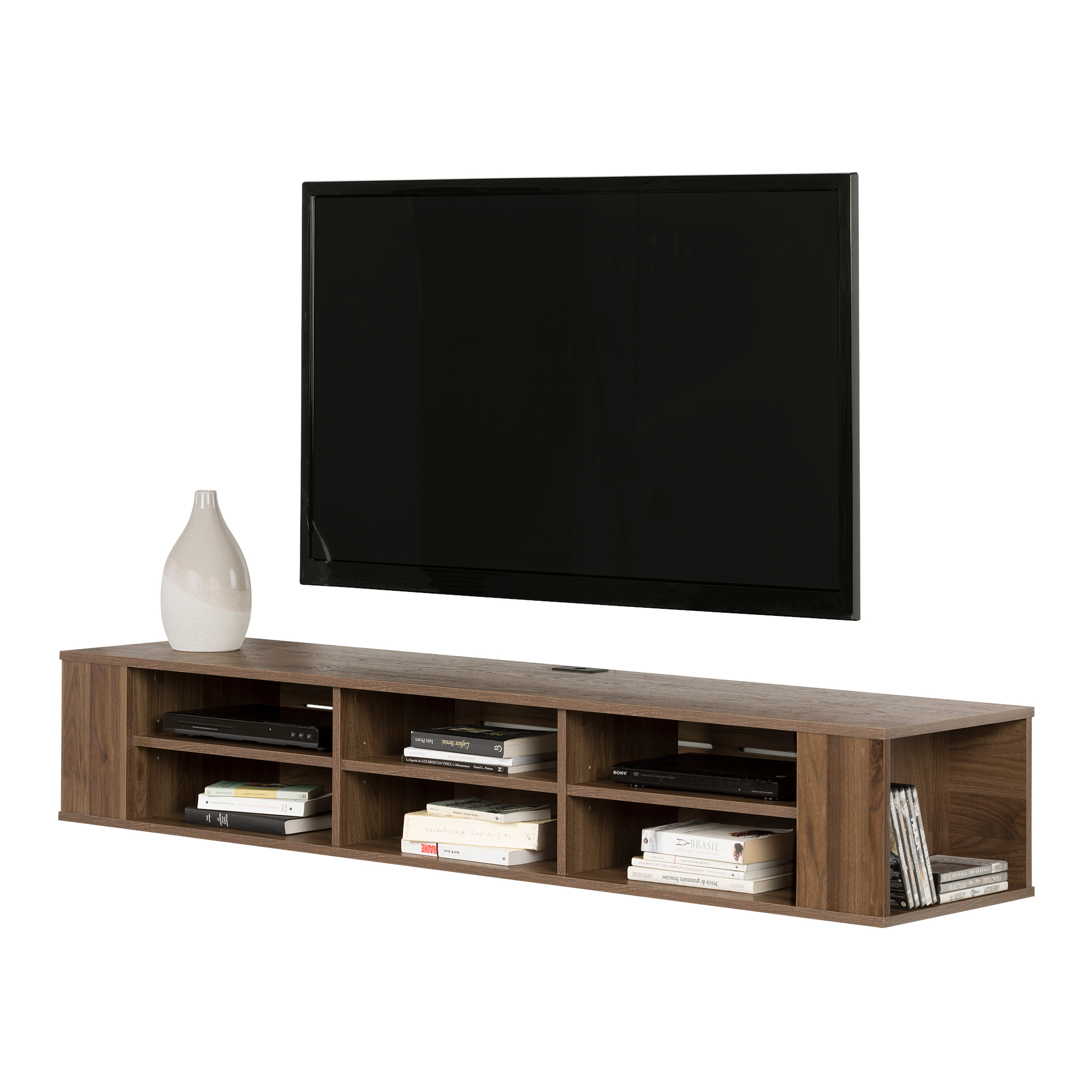 South Shore City Life 66 Wall Mounted Tv Stand Multiple
