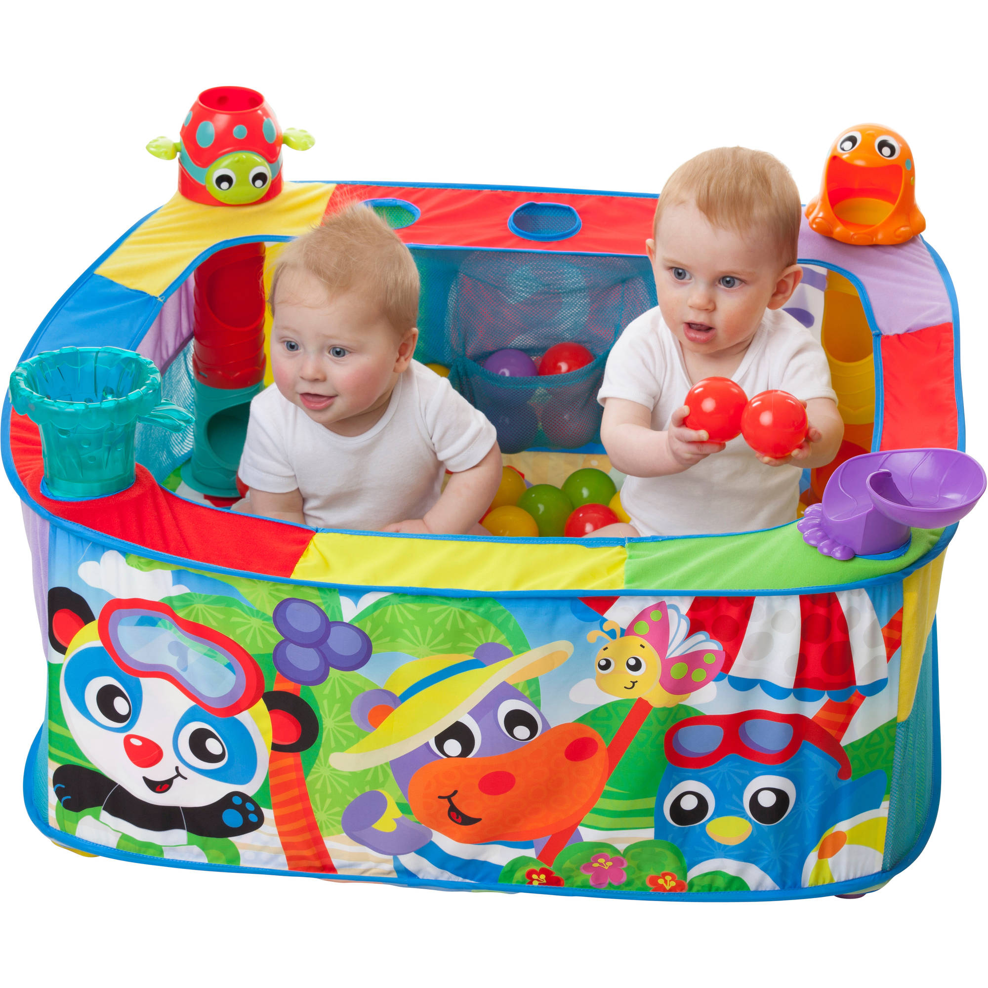 Playgro Pop And Drop Toddler Play Center Acitivty Ball Gym For Baby Infant New