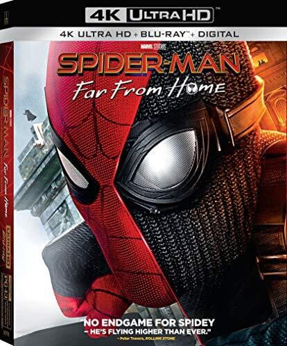 spider man far from home 4k ultra hd blu ray