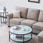 Onever Class Coffee Table With Large Storage Space Coffee Table Black Walmart Com Walmart Com