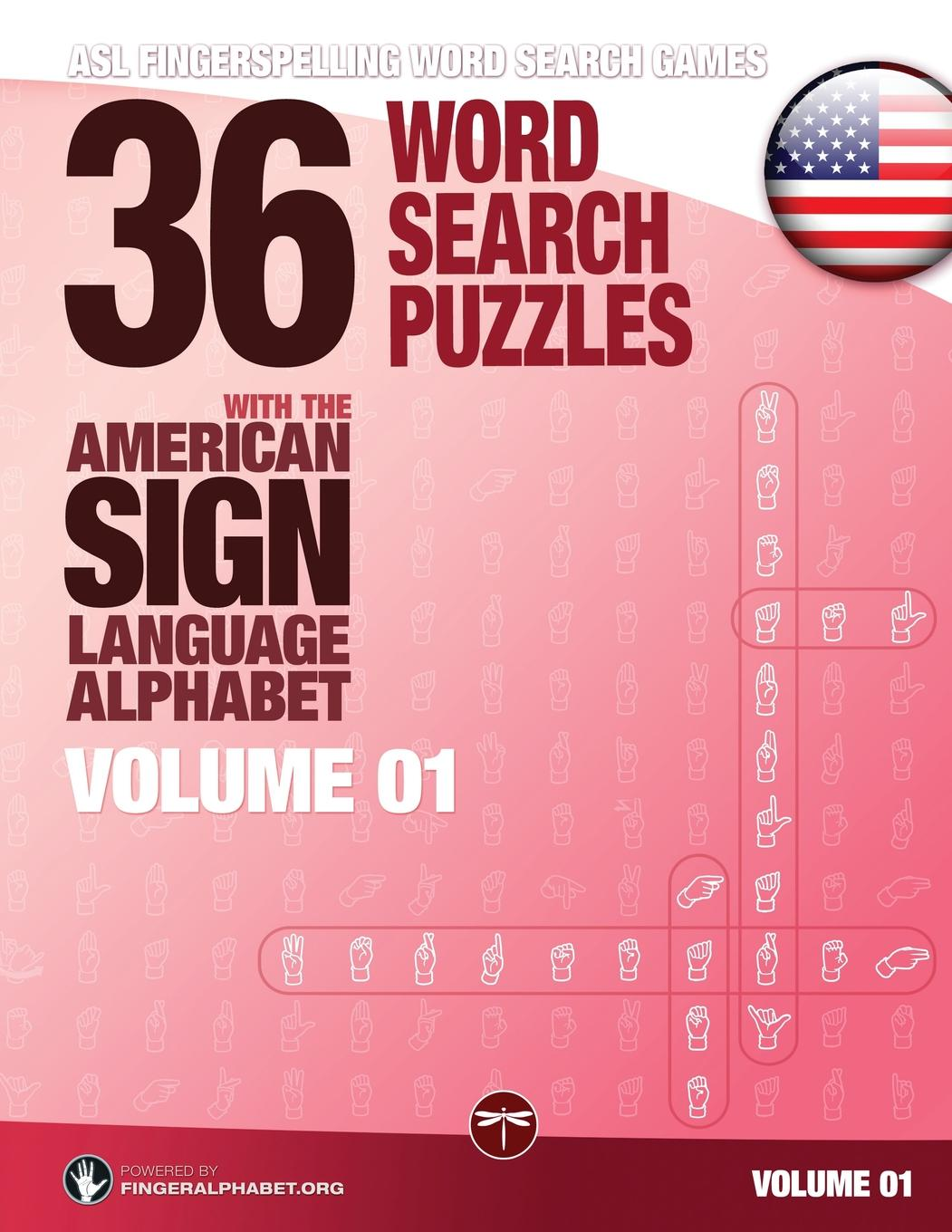 Asl Fingerspelling Word Search 36 Word Search Puzzles