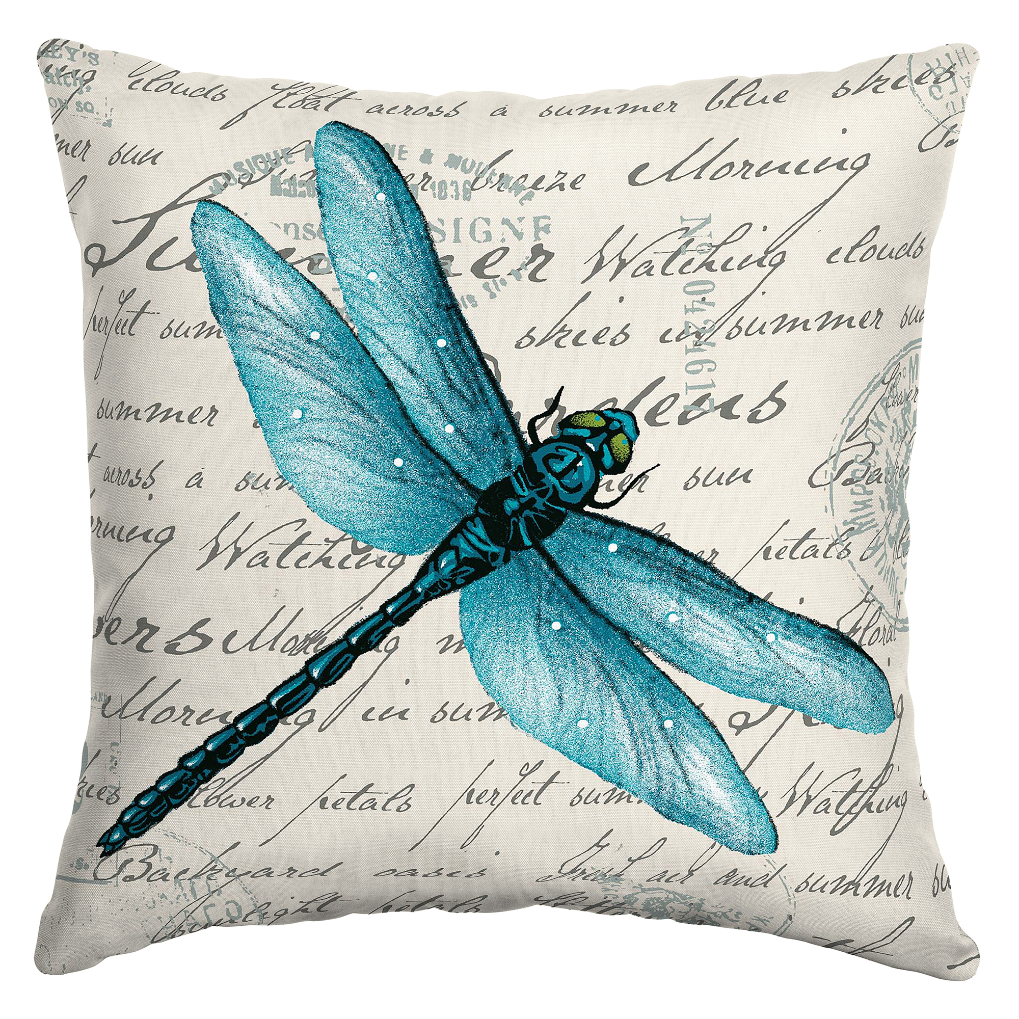 mainstays dragonfly 16 outdoor throw pillow