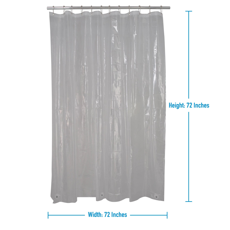 4 pack shower splash guard curtain