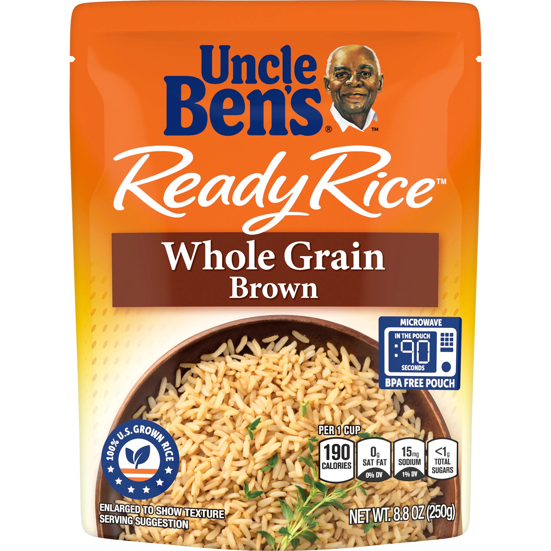 5 pack uncle ben s ready rice whole grain brown 8 8oz walmart com
