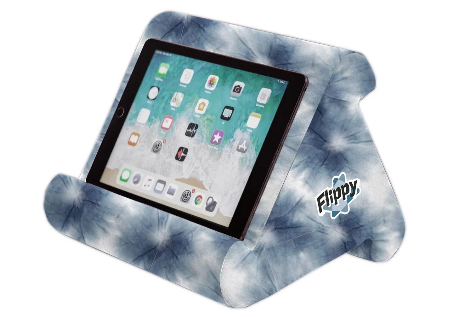 the original flippy multi angle soft pillow lap stand for ipads tablets ereaders smartphones books magazines walmart com walmart com