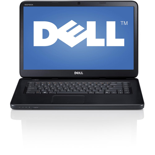 """Dell Obsidian Black 15.6"""" Inspiron 15 i15-1821BK Laptop PC with Intel Core i3-2370M Processor and Windows 8"""