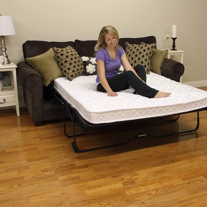 Modern Sleep Innerspring 5 Plush Sofa Bed Mattress Multiple Sizes
