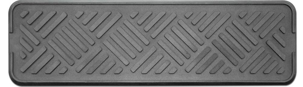 Set Of 3 Outdoor All Weather Rubber Stair Treads 9 In X 30 In   Walmart Outdoor Stair Treads   Rubber Stair   Rubber Backed   Walmart Com   Step Mats   Anti Slip
