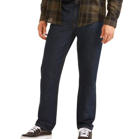Men's Basic Regular Fit Jeans