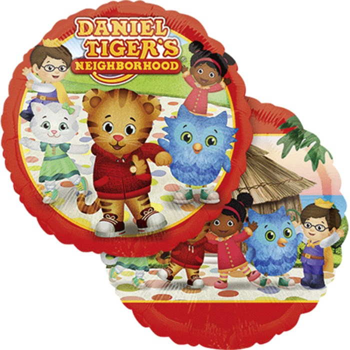 Daniel Tiger's Neighborhood Licensed Foil / Mylar Balloon 18