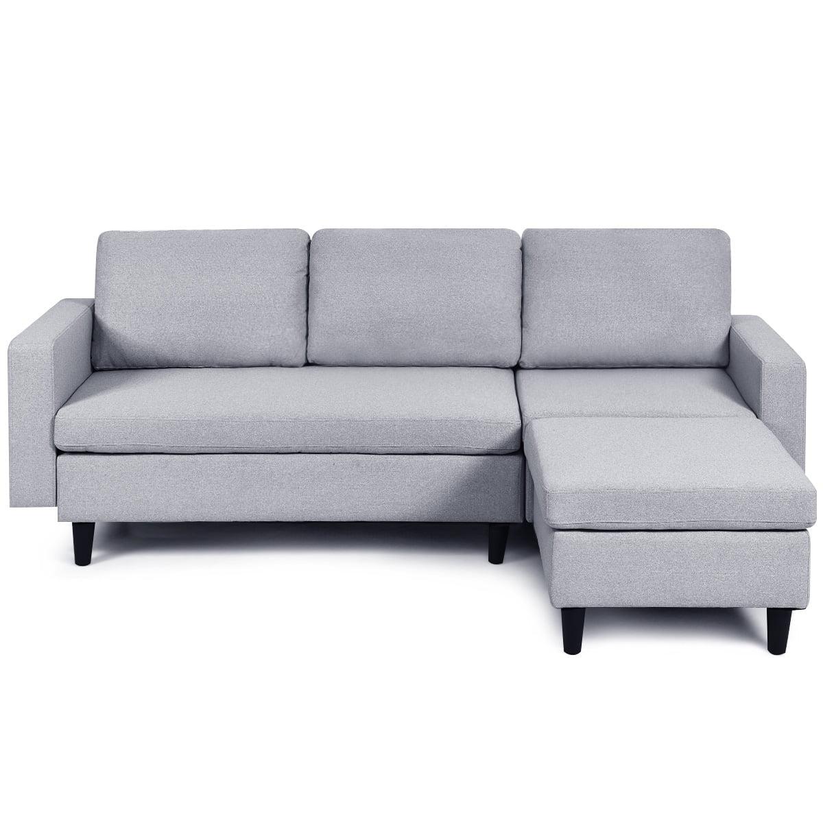 grey sectional sofas walmart com