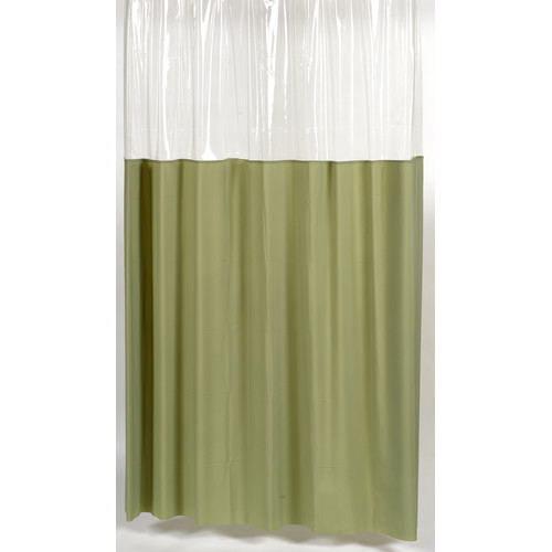 window shower curtain or liner with a