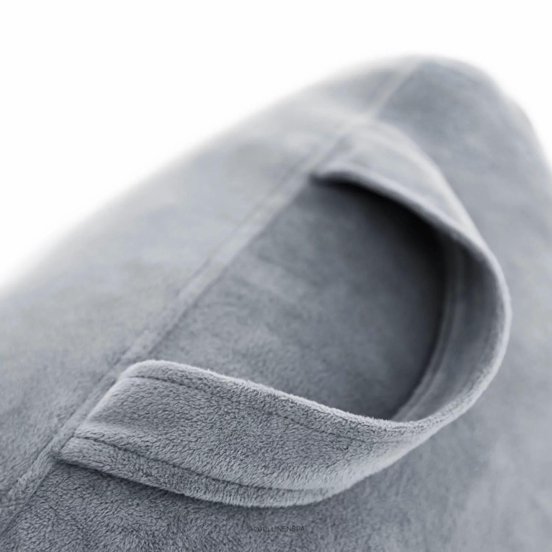 linenspa shredded foam reading pillow backrest