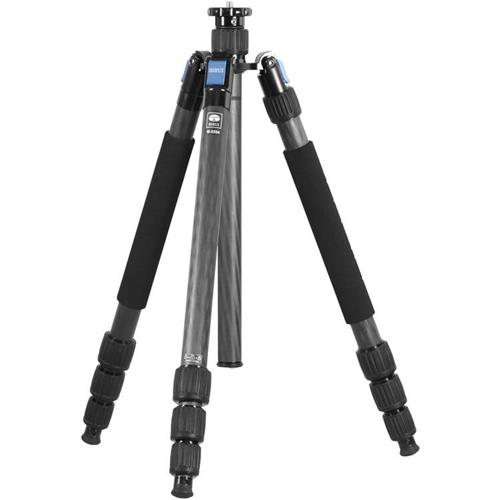 "Sirui W-2204 4-Section Waterproof Carbon Fiber Tripod, 39.7lbs Capacity, 71"" Maximum Height"