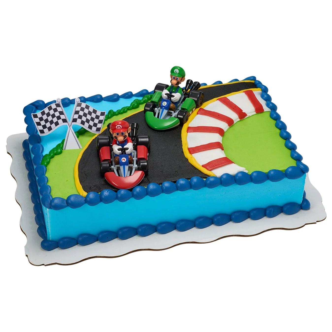 Super Mario Kart Kit Sheet Cake Walmart Com Walmart Com