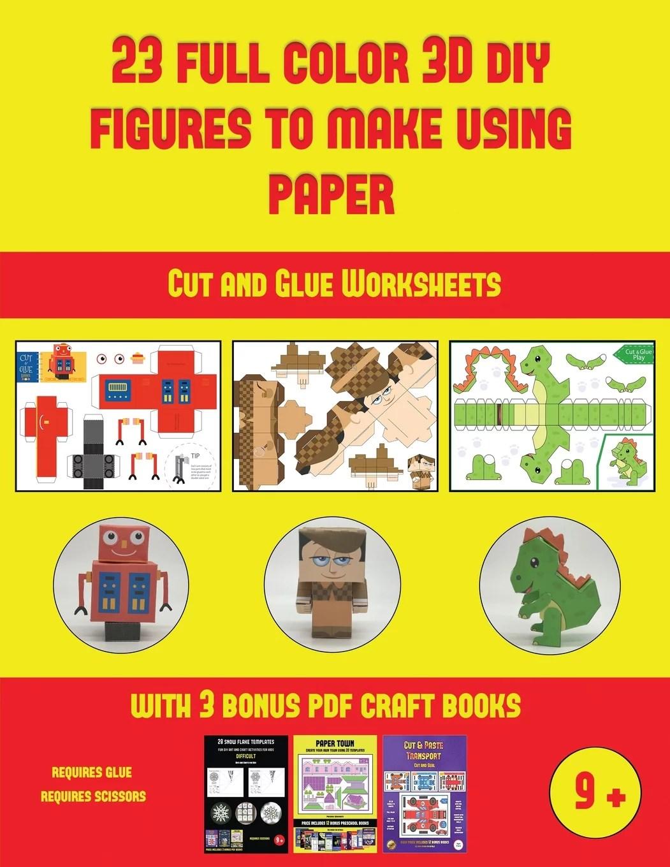 Cut And Glue Worksheets Cut And Glue Worksheets 23 Full
