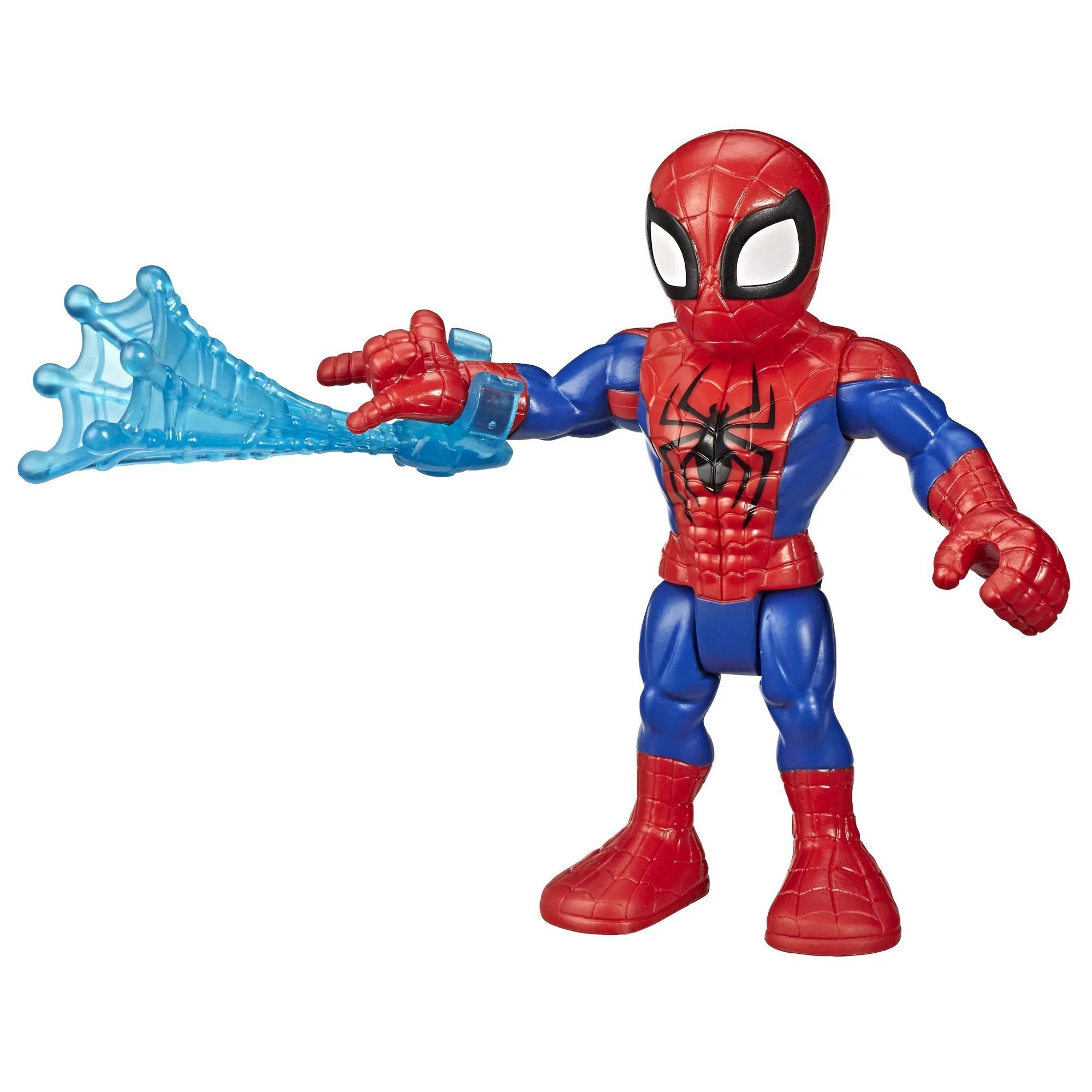 Playskool Marvel Super Hero Adventures 5 Inch Spider Man Action Figure Walmart Com Walmart Com