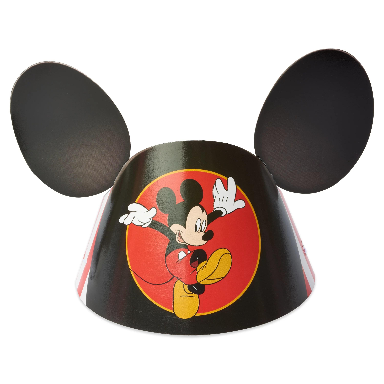 Mickey Mouse Birthday Party Hats 6 8ct Walmart Com Walmart Com