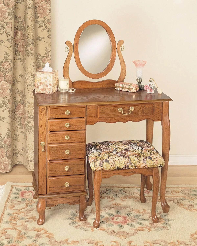 jewelry armoire vanity mirror bench i