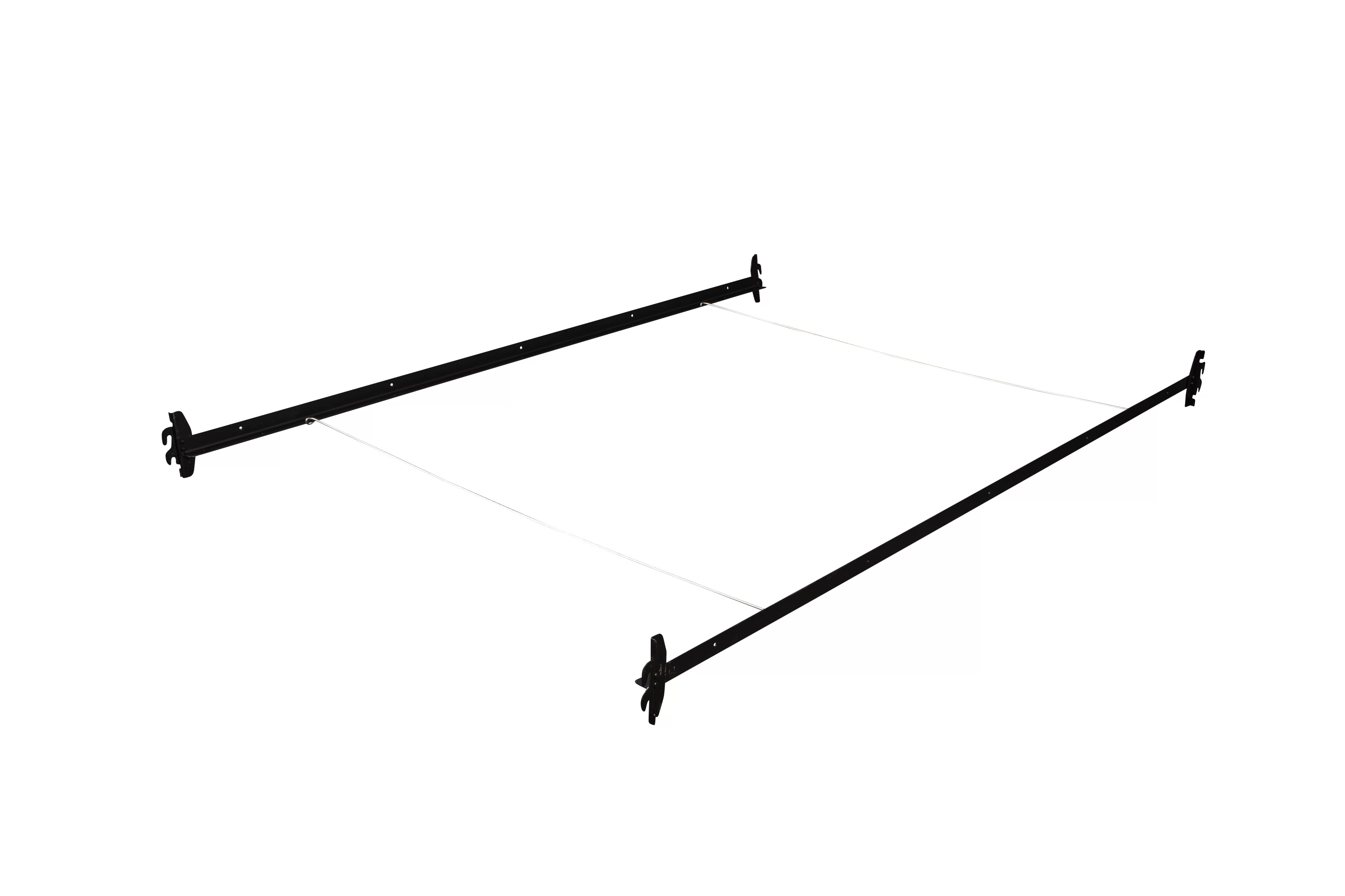 hook on bed rails twin full