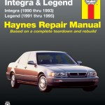 Acura Integra 90 93 Legend 91 95 Haynes Repair Manual Walmart Com Walmart Com